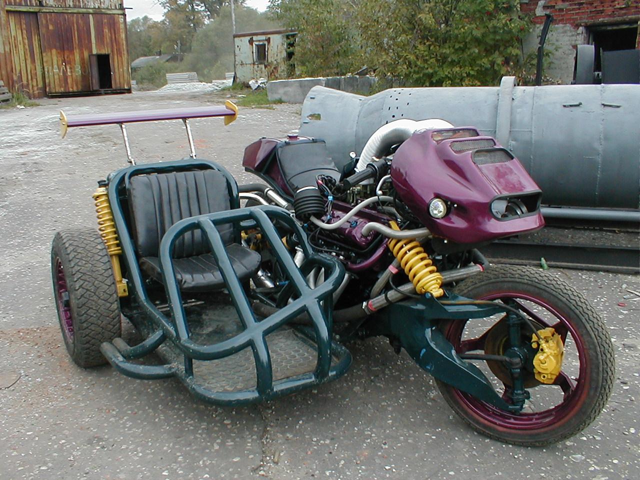 Фото самодельных мотоциклов русских 4